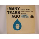 CONNIE FRANCIS : (EP) Many tears ago / Senza mama / Where the boys are / No one