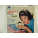 CONNIE FRANCIS : (EP) Second hand love / Gonna git that man / You're the only one can hurt me / What kind of fool am I