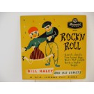 BILL HALEY & COMETS : (EP) Razzle dazzle / Two hound dogs / Burn that candle / Rock-a-beatin' boogie