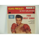 "ELVIS PRESLEY : (EP) ""Kid Galahad"" : This is living / Riding the rainbow / I got lucky / A whistling tune"