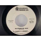 SANTO & JOHNNY : Watermelon man / Return to Naples