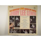 "JERRY LEE LEWIS : ""The greatest live show on earth"""