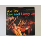 "JOE TEX : ""Live and lively"""