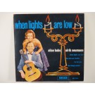 ALICE BABS : (EP) When lights are low / The old scat shuffle / I'm for you / Two sleepy people