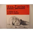 ANN-LOUISE HANSON : En serenad till dig / Jag tror på sommaren